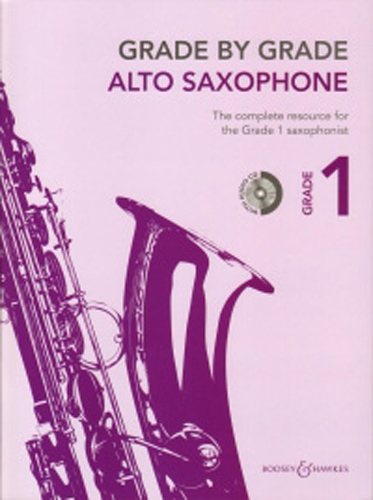 Grade By Grade Alto Saxophone Grade 1 Way + Cd