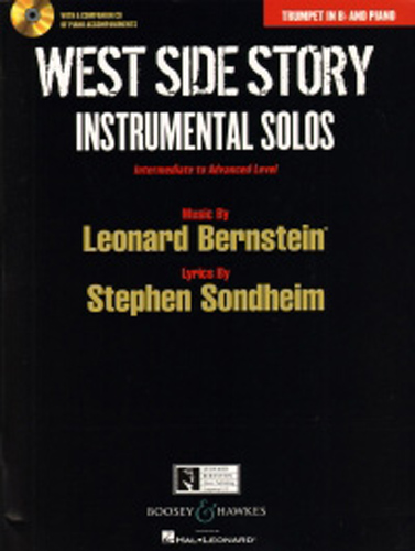 West Side Story Instrumental Solos Trumpet + Cd