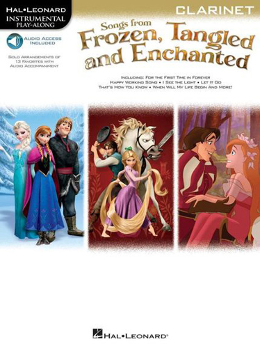 Frozen Tangled Enchanted Instrumental Clarinet