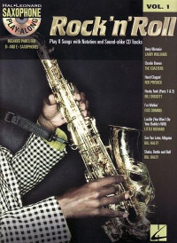 Saxophone Play Along 01 Rock n Roll Book & Cd