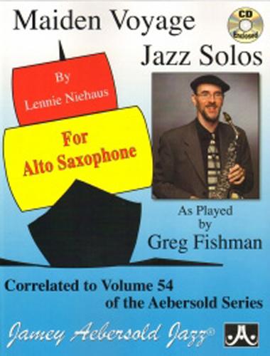 Maiden Voyage Jazz Solos Alto Saxophone + Cd