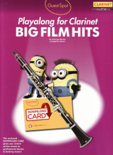 Guest Spot Big Film Hits Clarinet + online