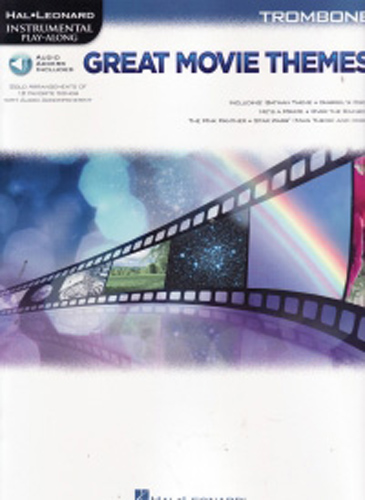 Great Movie Themes Instrumental Trombone + Cd