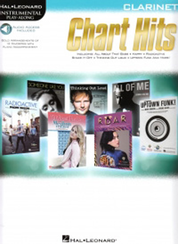 Chart Hits Instrumental Playalong Clarinet + down