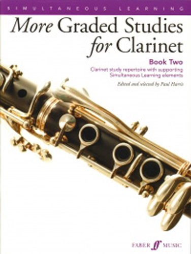 More Graded Studies For Clarinet Book 2 Harris