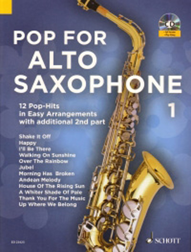 Pop For Alto Saxophone 1 + Cd