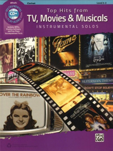 Top Hits From Tv Movies & Musicals Clarinet + Cd