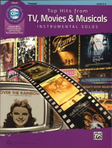 Top Hits From Tv Movies & Musicals Trumpet + Cd