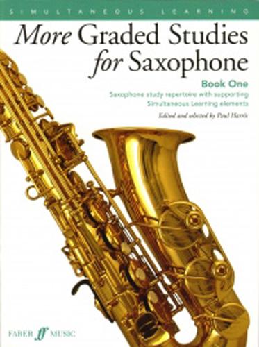 More Graded Studies For Saxophone Book 1 Harris