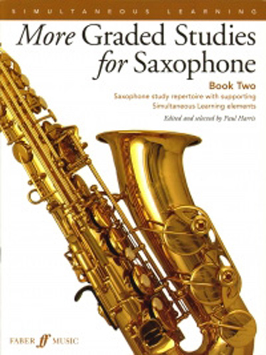 More Graded Studies For Saxophone Book 2 Harris