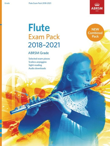 Flute Exam Pack 2018-2021 Grade 4 Complete ABRSM