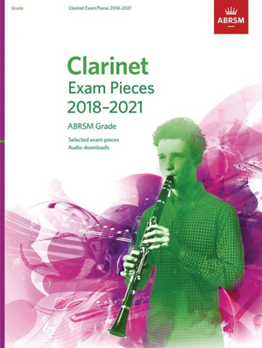 Clarinet Exam Pieces 2018-2021 Grade 7 + online AB