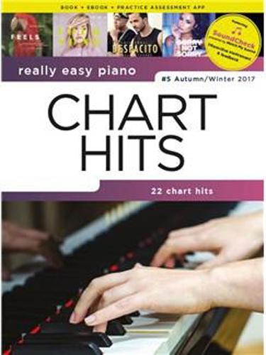 Really Easy Piano Chart Hits 5 Autumn Winter 2017