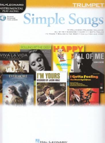 Simple Songs Instrumental Play Along Trumpet + Online