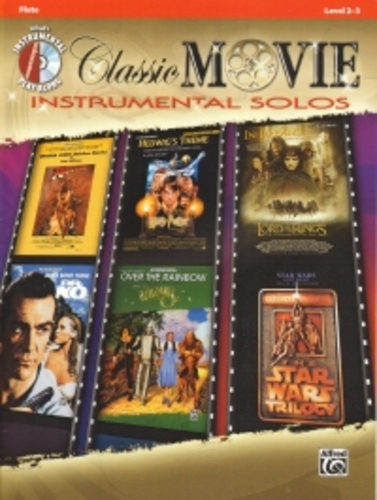 Classic Movie Instrumental Solos Flute + Cd