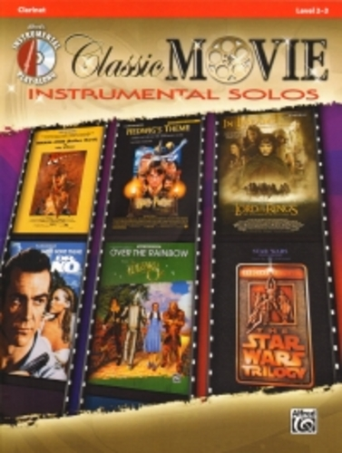 Classic Movie Instrumental Solos Clarinet + Cd