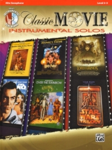Classic Movie Instrumental Solos Alto Sax + Cd