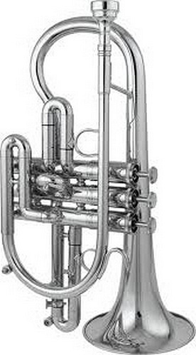 Getzen Custom 3810CS Silver Plated - Cornet in C