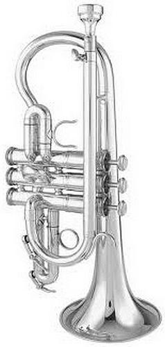 Getzen Custom 3892S Silver Plated - Soprano Cornet in Eb