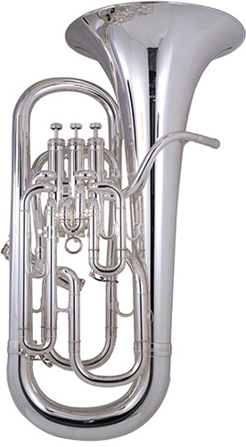 Besson Sovereign BE967 Silver Plated - Euphonium