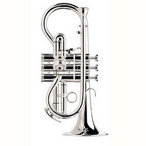 Besson Sovereign BE924R Silver Plated - Soprano Cornet in Eb