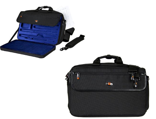 Protec LX308PICC Messenger Flute & Piccolo Case - Black
