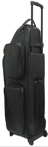 Selmer USA Baritone Sax Gig Bag - Leather (with Wheels)
