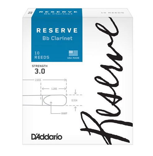 Reserve Bb Clarinet Reed
