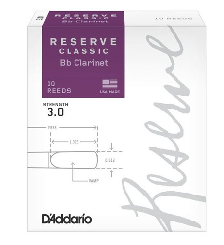 Reserve Classic Clarinet Reed