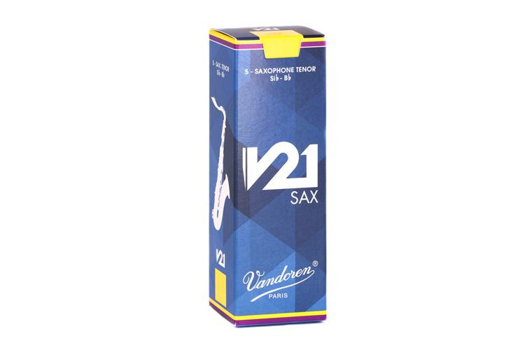 Vandoren V21 Tenor Saxophone Reeds Box of 5