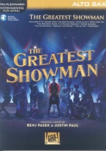 Greatest Showman Instrumental Playalong Alto Sax + Online