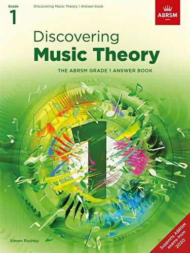 Discovering Music Theory Abrsm Grade 1 Answer Book