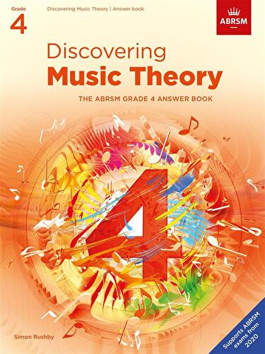 Discovering Music Theory Abrsm Grade 4 Answer Book