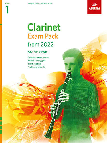 Clarinet Exam Pack from 2022 Grade 1 ABRSM