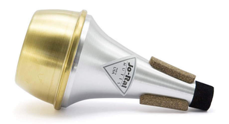 Jo-Ral Trumpet Mute - Straight - Brass Bottom