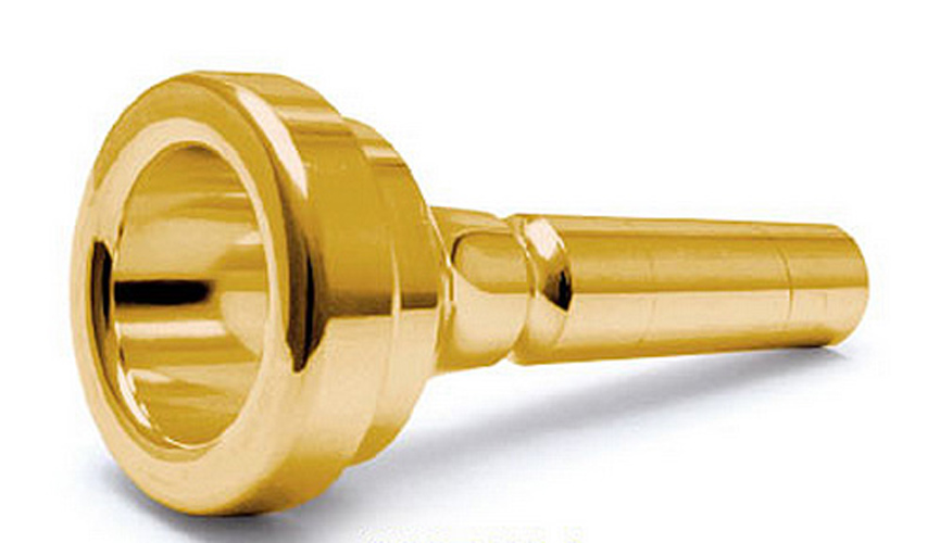 Denis Wick Trombone Mouthpiece - Gold Plated