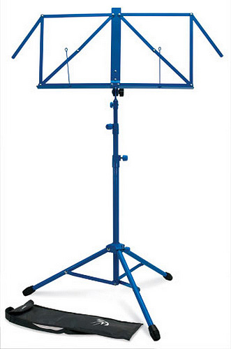 TGI Music Stand with Bag - Blue