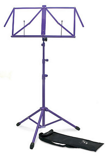 TGI Music Stand with Bag - Purple
