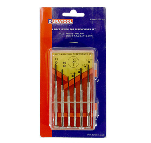 Screwdriver Set - 6 Pieces