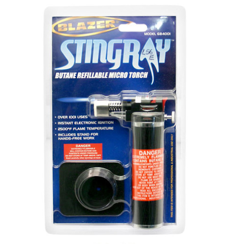 Micro Butane Torch - Blazer Stingray