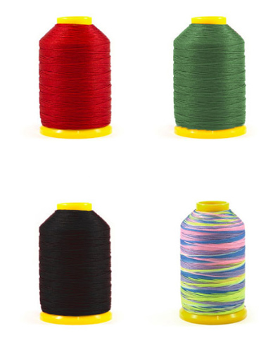 Pisoni Nylon Thread 225 m - Red