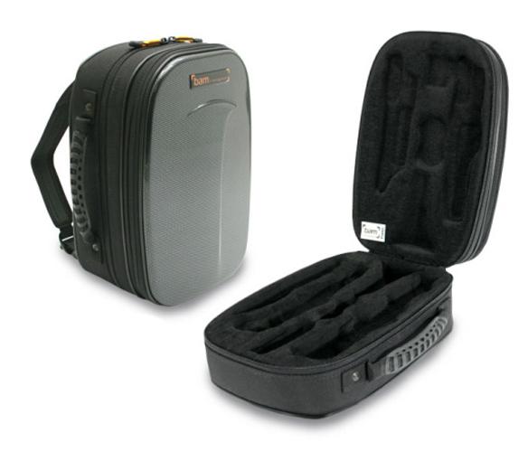 BAM New Trekking Bb Clarinet Case - Black Carbon