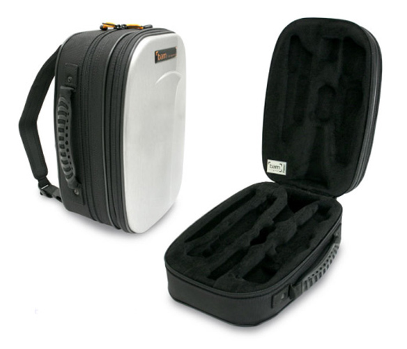 BAM New Trekking Bb Clarinet Case - Brushed Aluminium