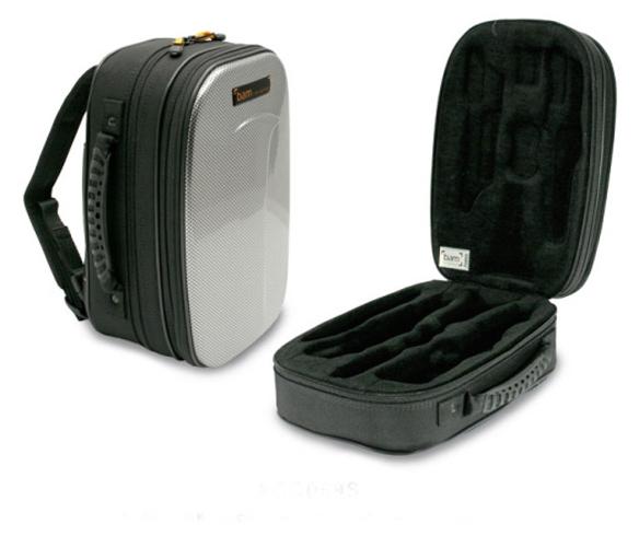 BAM New Trekking Bb Clarinet Case - Silver Carbon