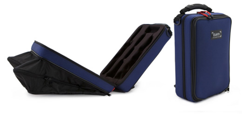 BAM Trekking Bb Clarinet Case - Blue