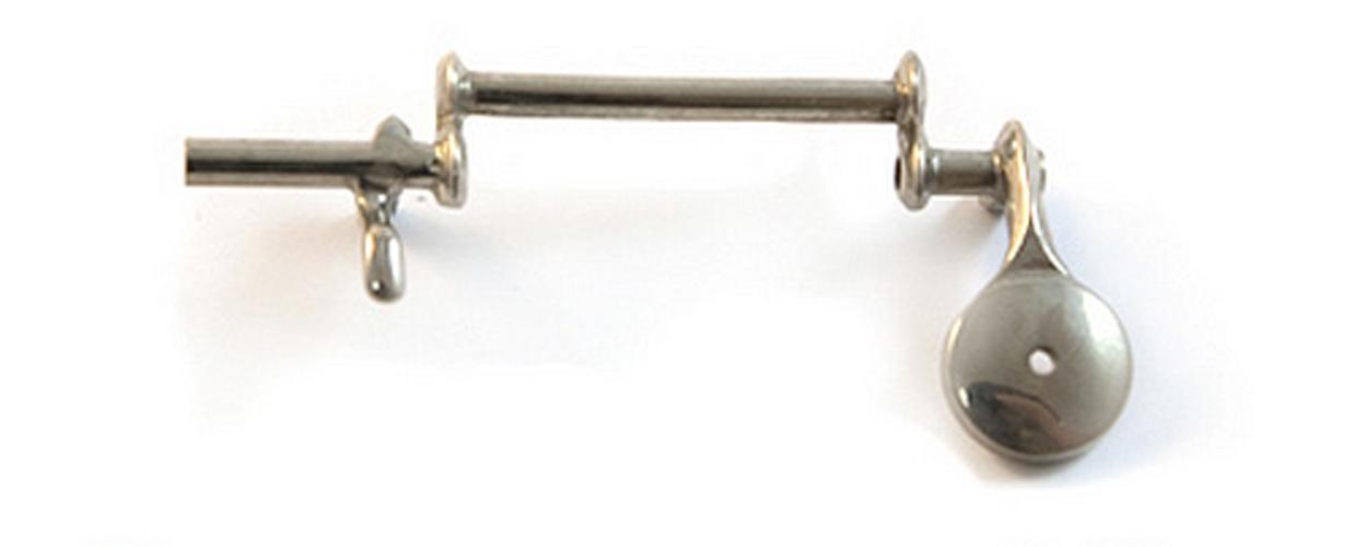 Key - D Plate - 6th Finger - 4120 Oboe
