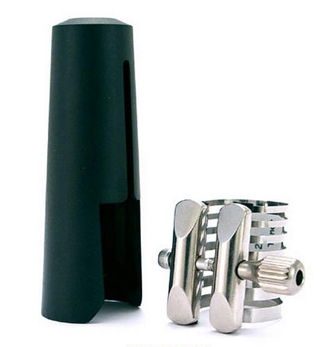 Rovner Alto/Tenor Sax Platinum Ligature & Cap - P2M
