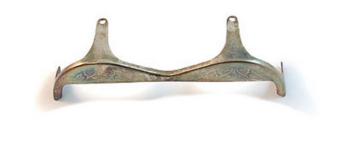 Key Guard - B/Bb - Silver Plate -  Sax Corton/B&H400/AK