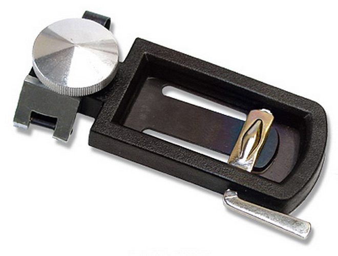 Bb Clarinet Reed Cutter - with Regulator
