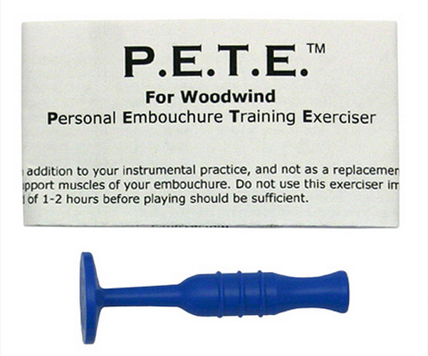 Warburton P.E.T.E Woodwind Player Embouchure Trainer - Blue Plastic